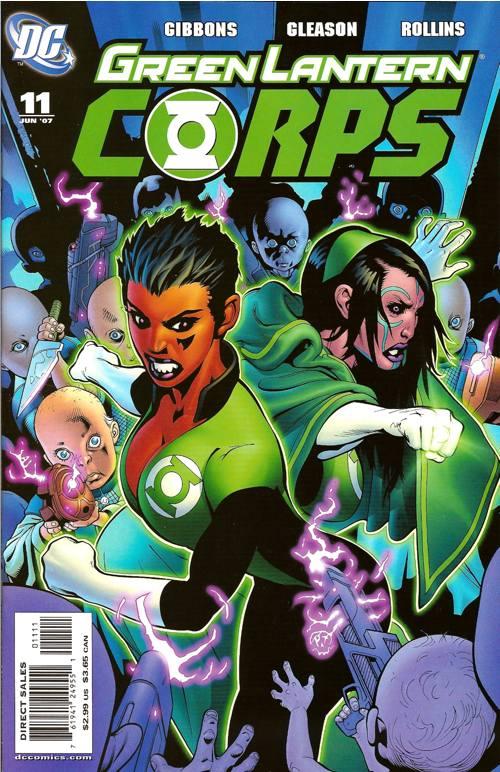 Green Lantern Corps Vol 2 11