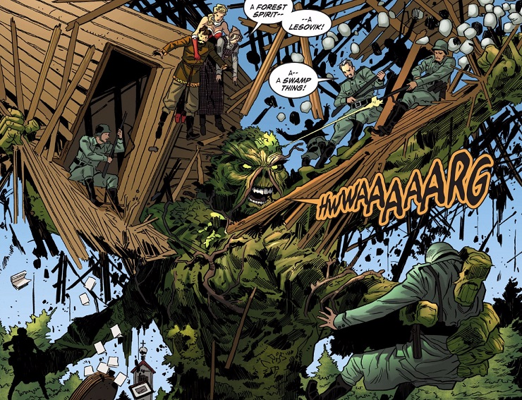 Swamp Thing (DC Bombshells)