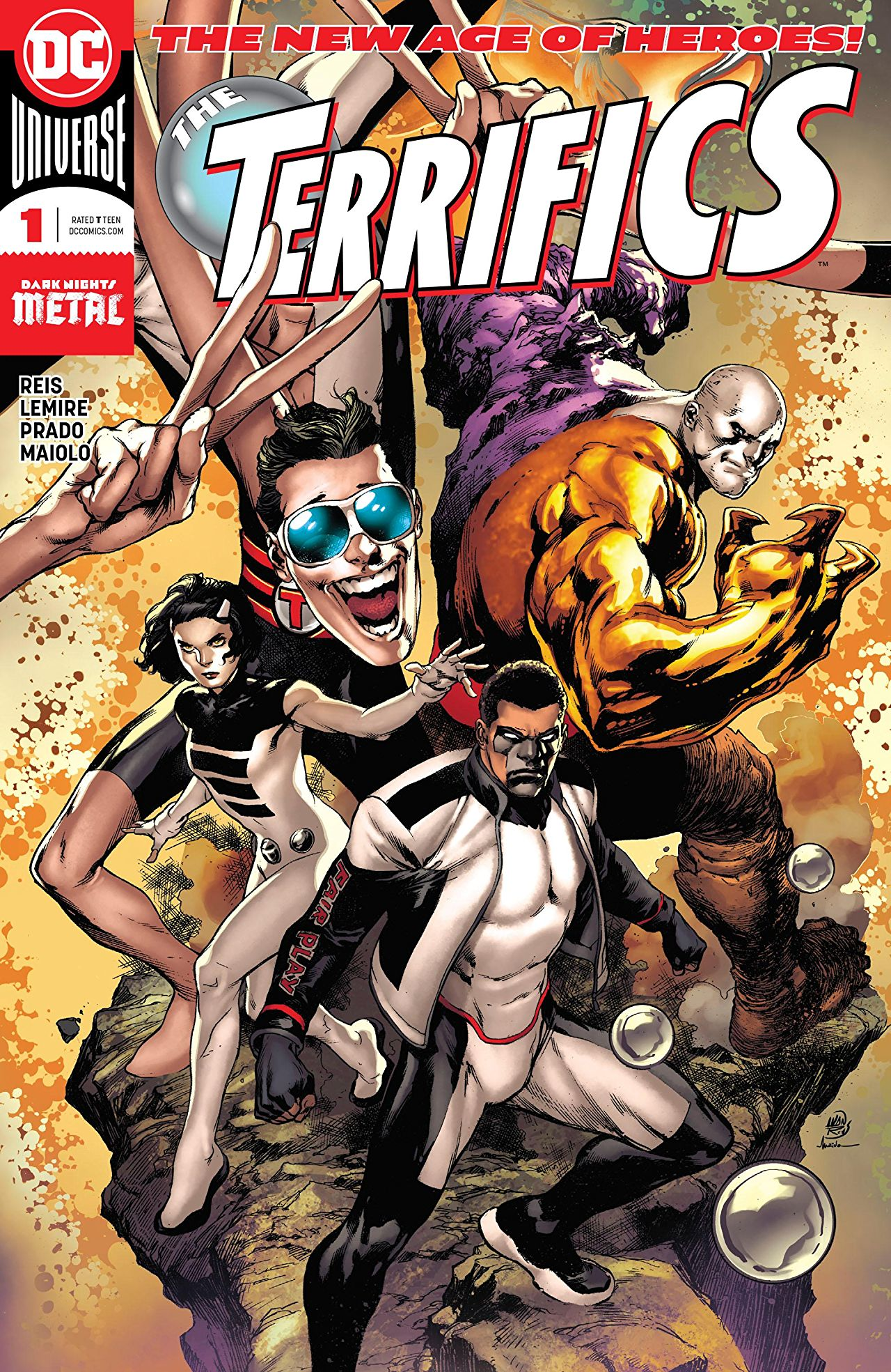 The Terrifics Vol 1 1