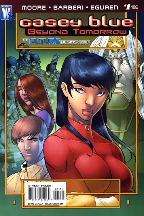 Casey Blue: Beyond Tomorrow Vol 1