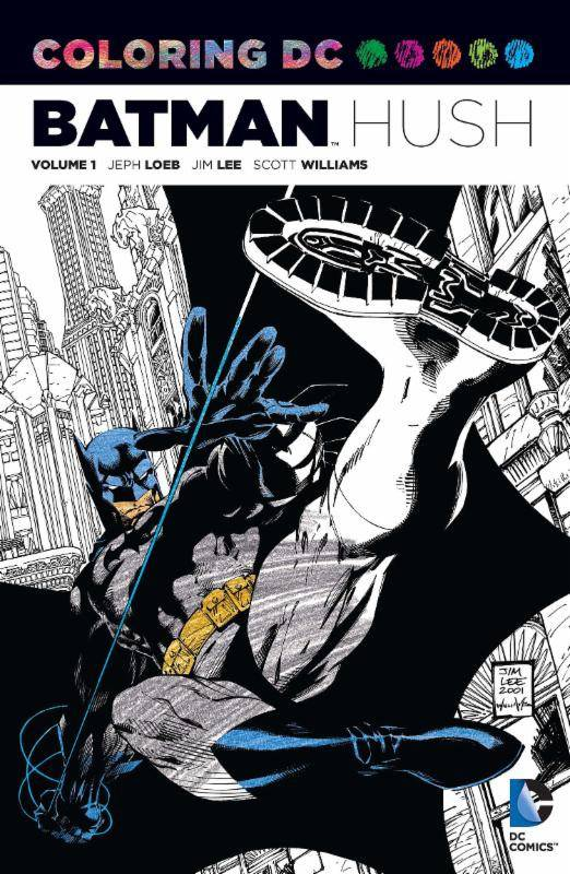 Coloring DC: Batman - Hush Vol. 1 (Collected)