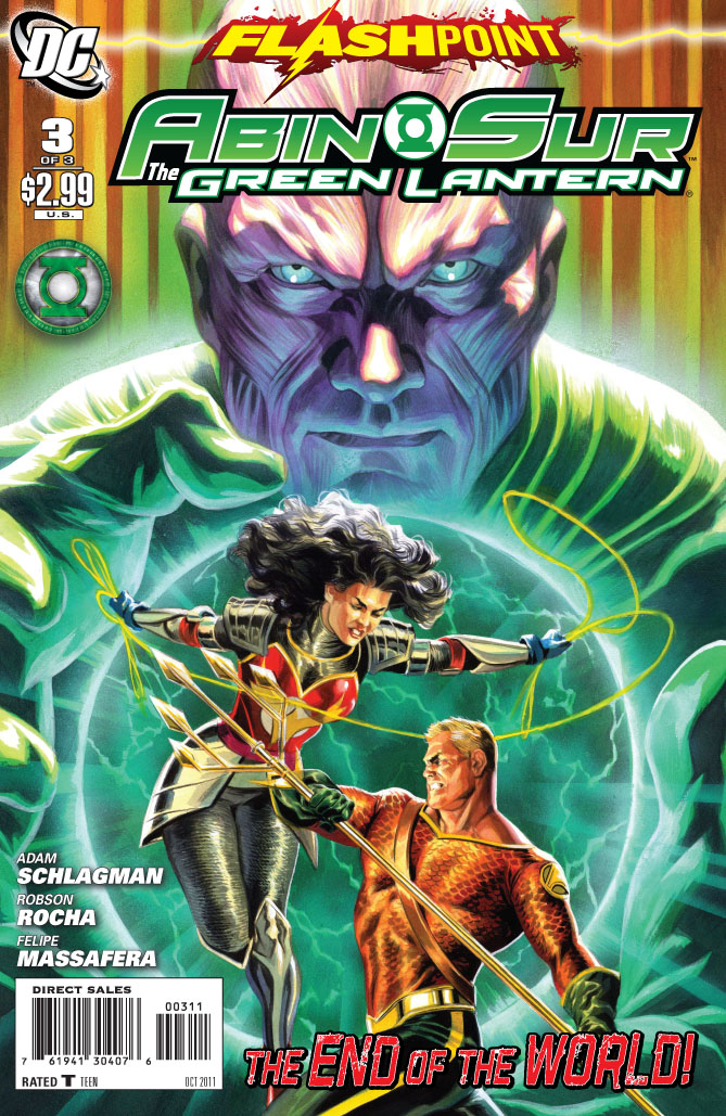 Flashpoint: Abin Sur - The Green Lantern Vol 1 3