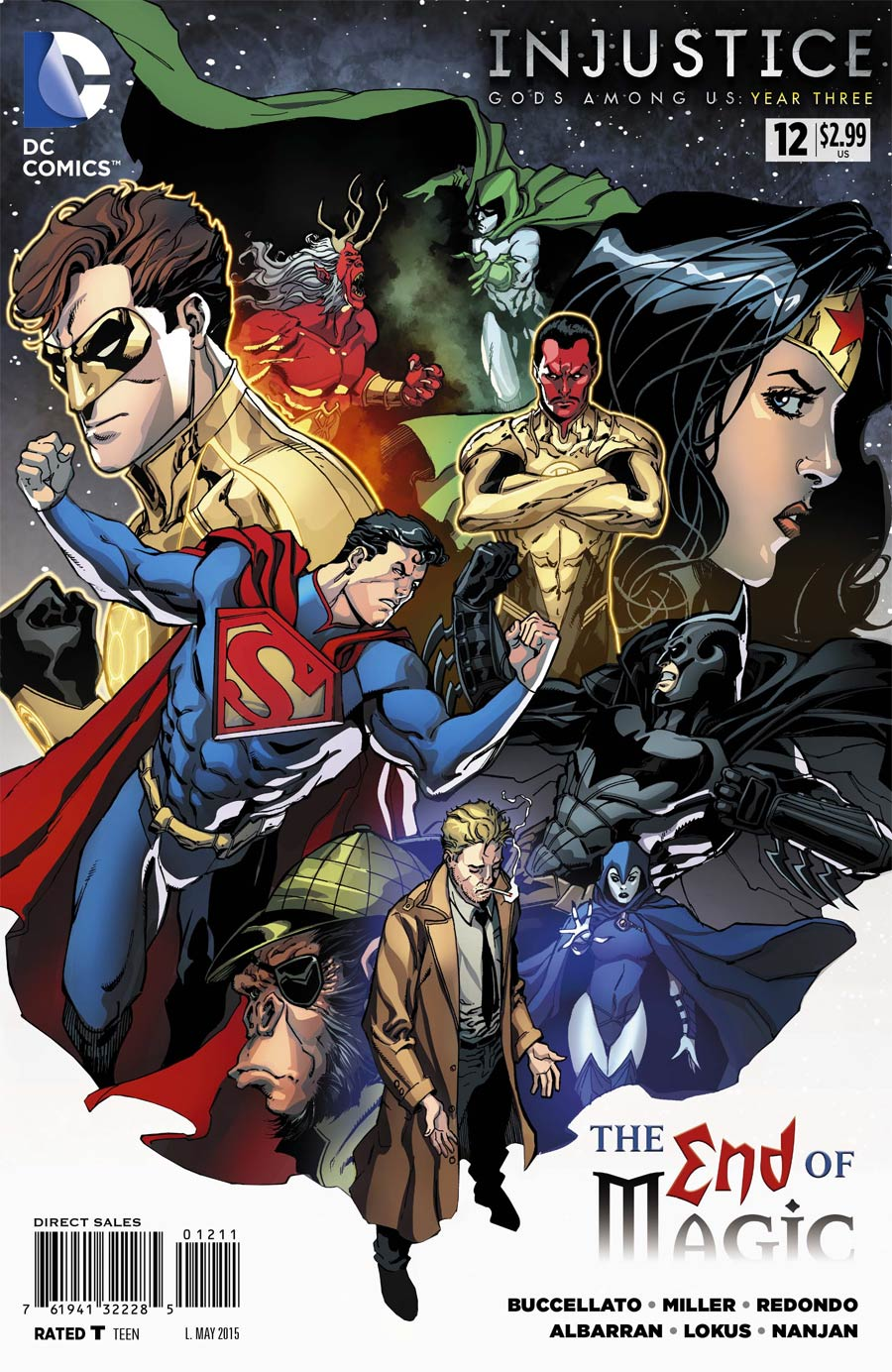 Injustice: Gods Among Us: Year Three Vol 1 12