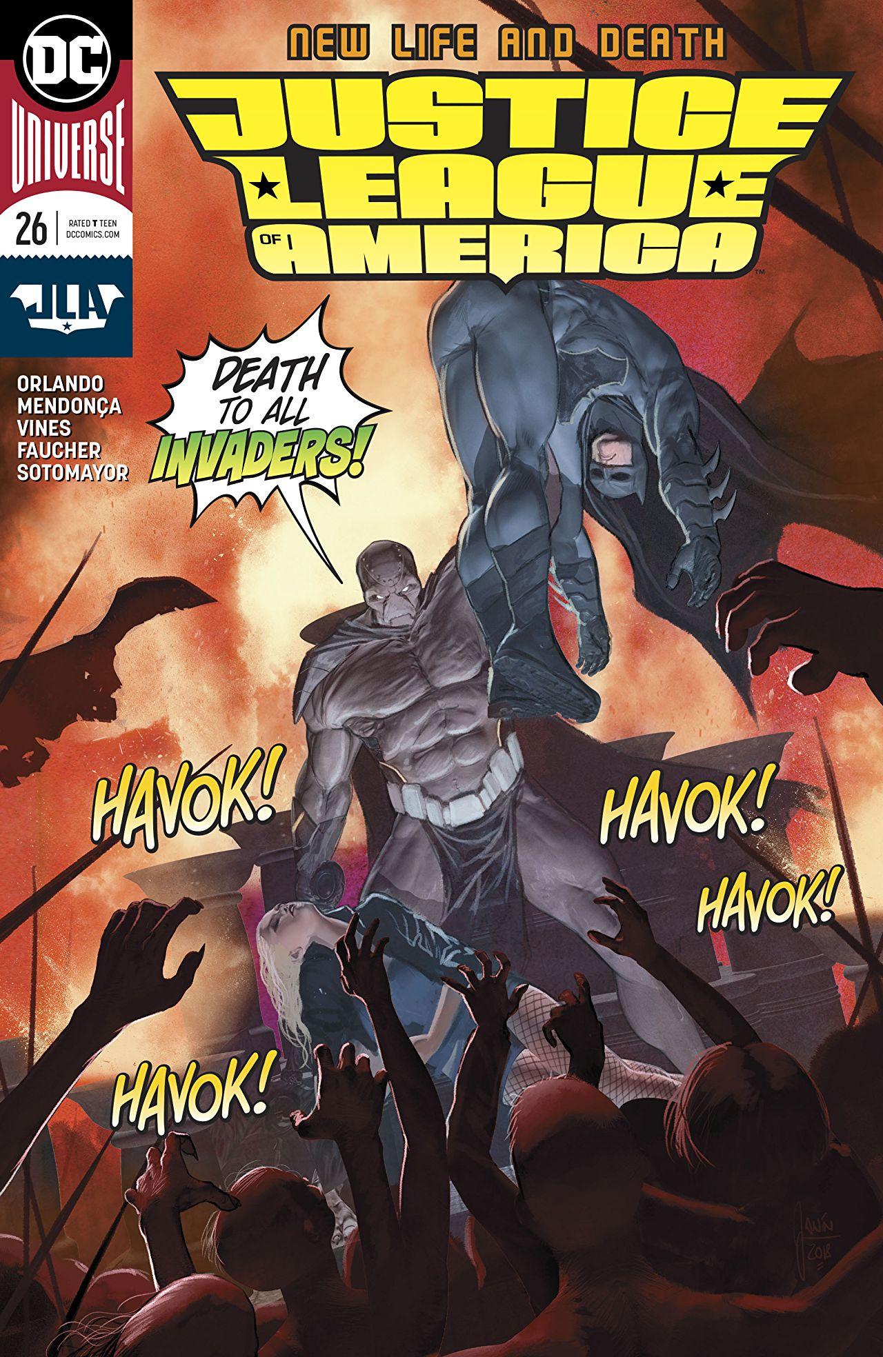 Justice League of America Vol 5 26