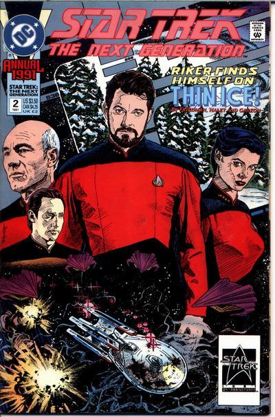 Star Trek: The Next Generation Annual Vol 2 2