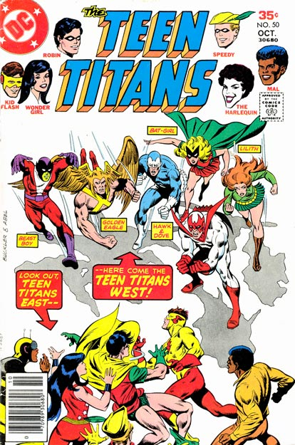 Teen Titans Vol 1 50
