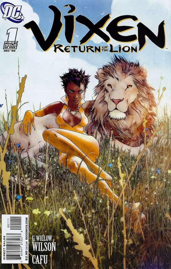 Vixen: Return of the Lion Vol 1 1