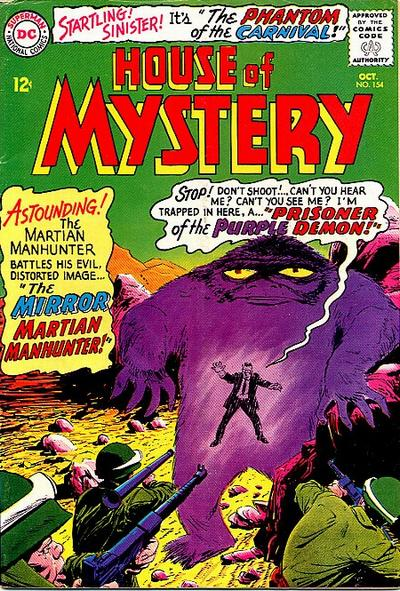 House of Mystery Vol 1 154