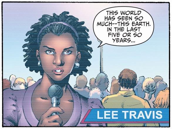 Lee Travis (Earth 2)