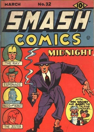 Smash Comics Vol 1 32