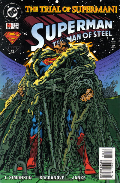 Superman: The Man of Steel Vol 1 50