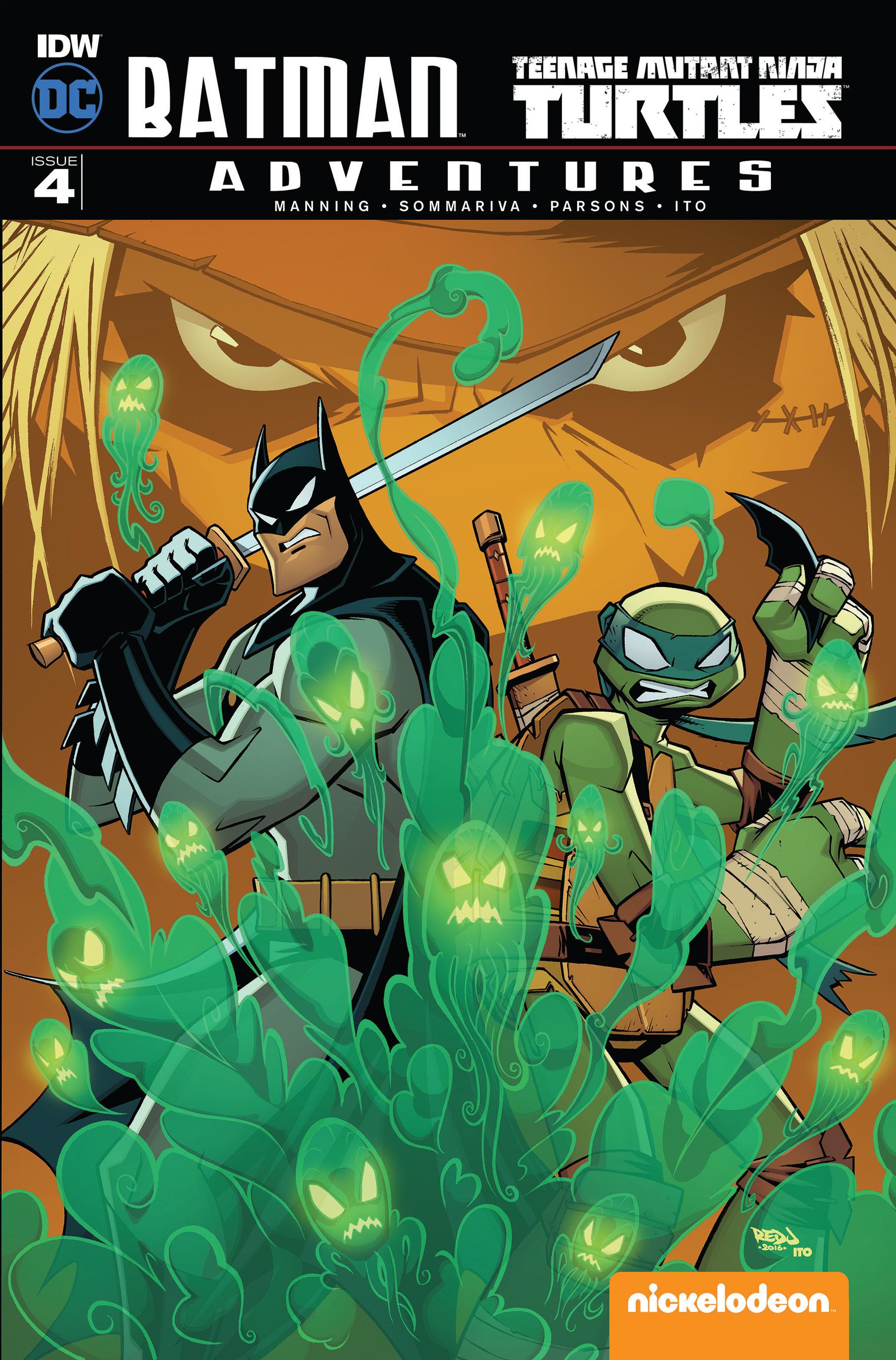 Batman/Teenage Mutant Ninja Turtles Adventures Vol 1 4