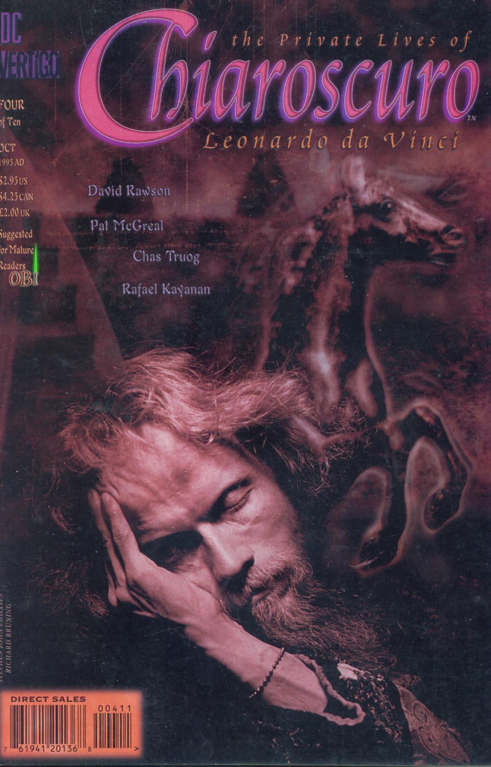 Chiaroscuro: The Private Lives of Leonardo da Vinci Vol 1 4