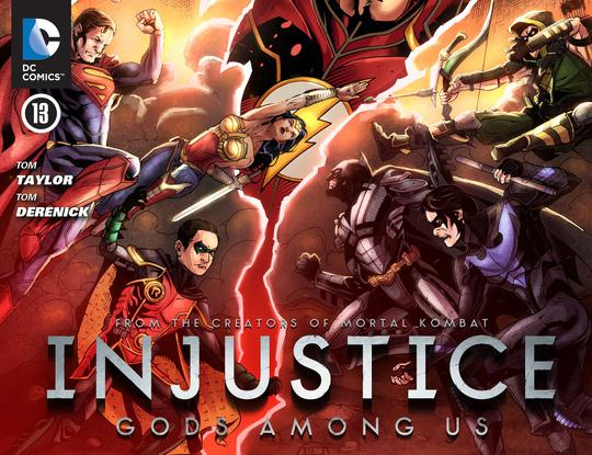 Injustice: Gods Among Us Vol 1 13 (Digital)