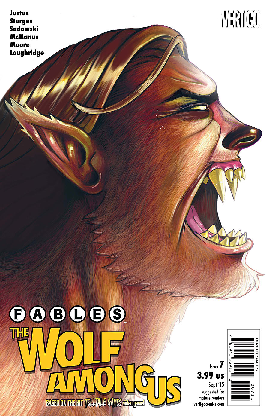 Fables: The Wolf Among Us Vol 1 7