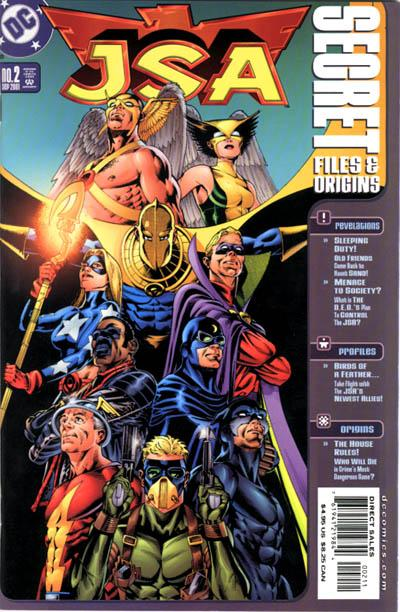 JSA Secret Files and Origins Vol 1 2