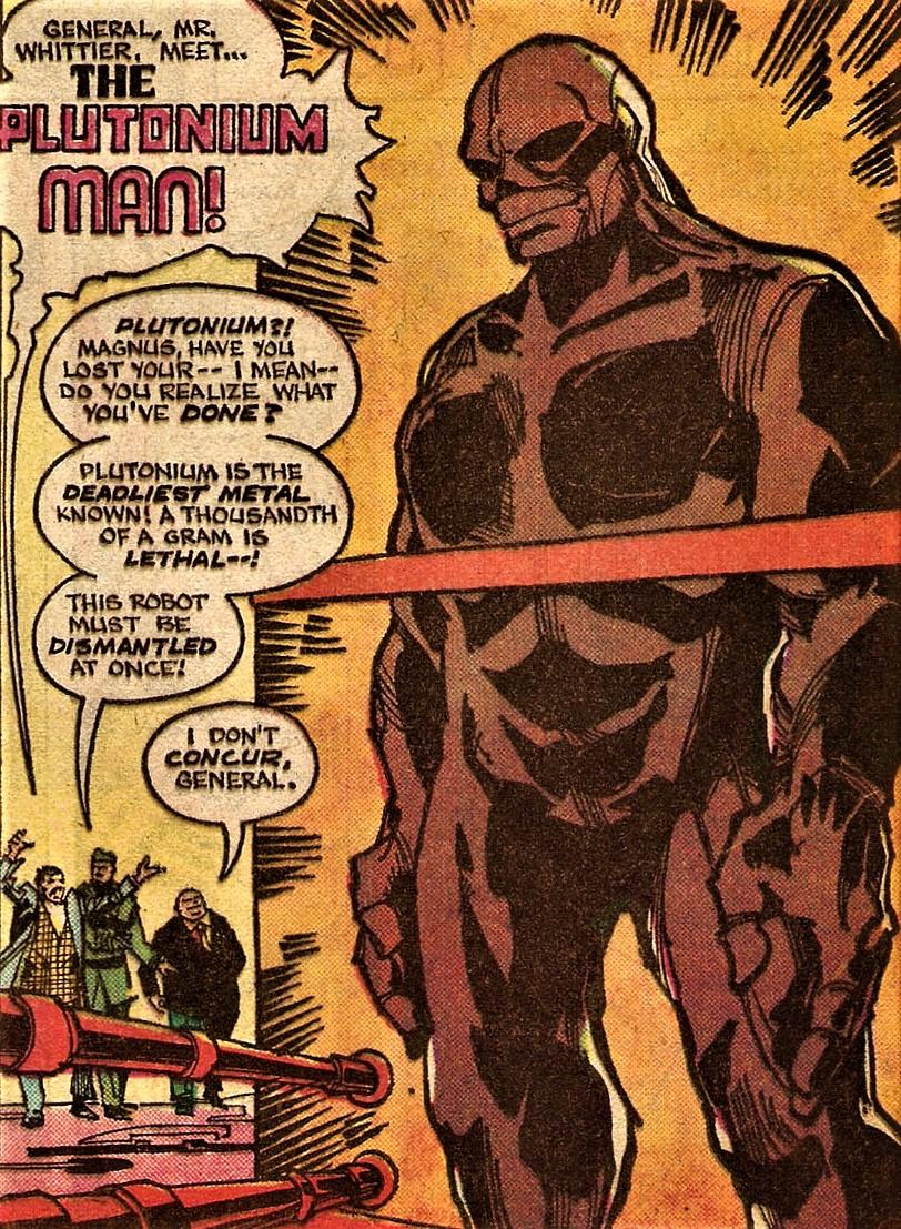 Plutonium Man (New Earth)