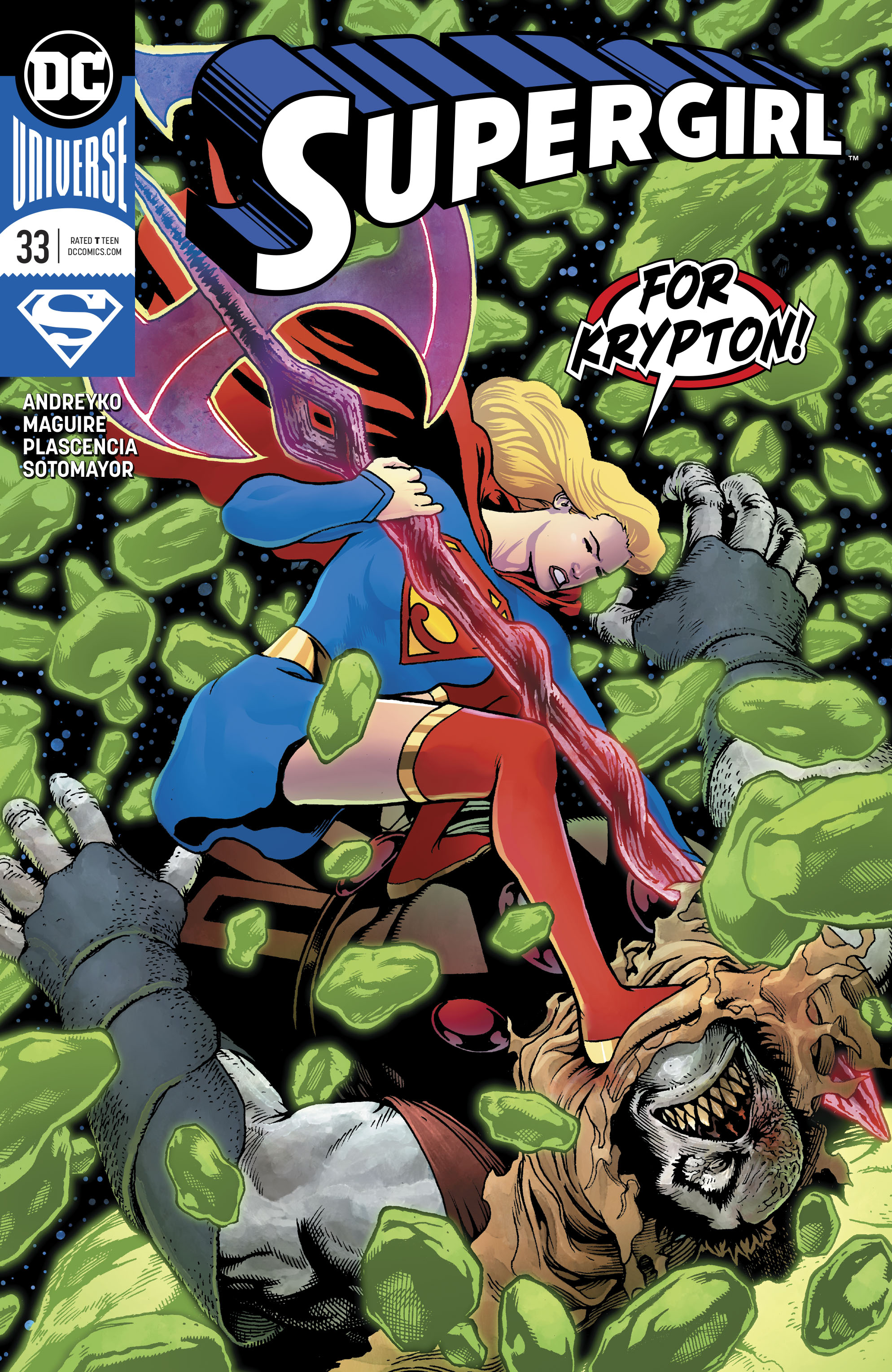 Supergirl Vol 7 33