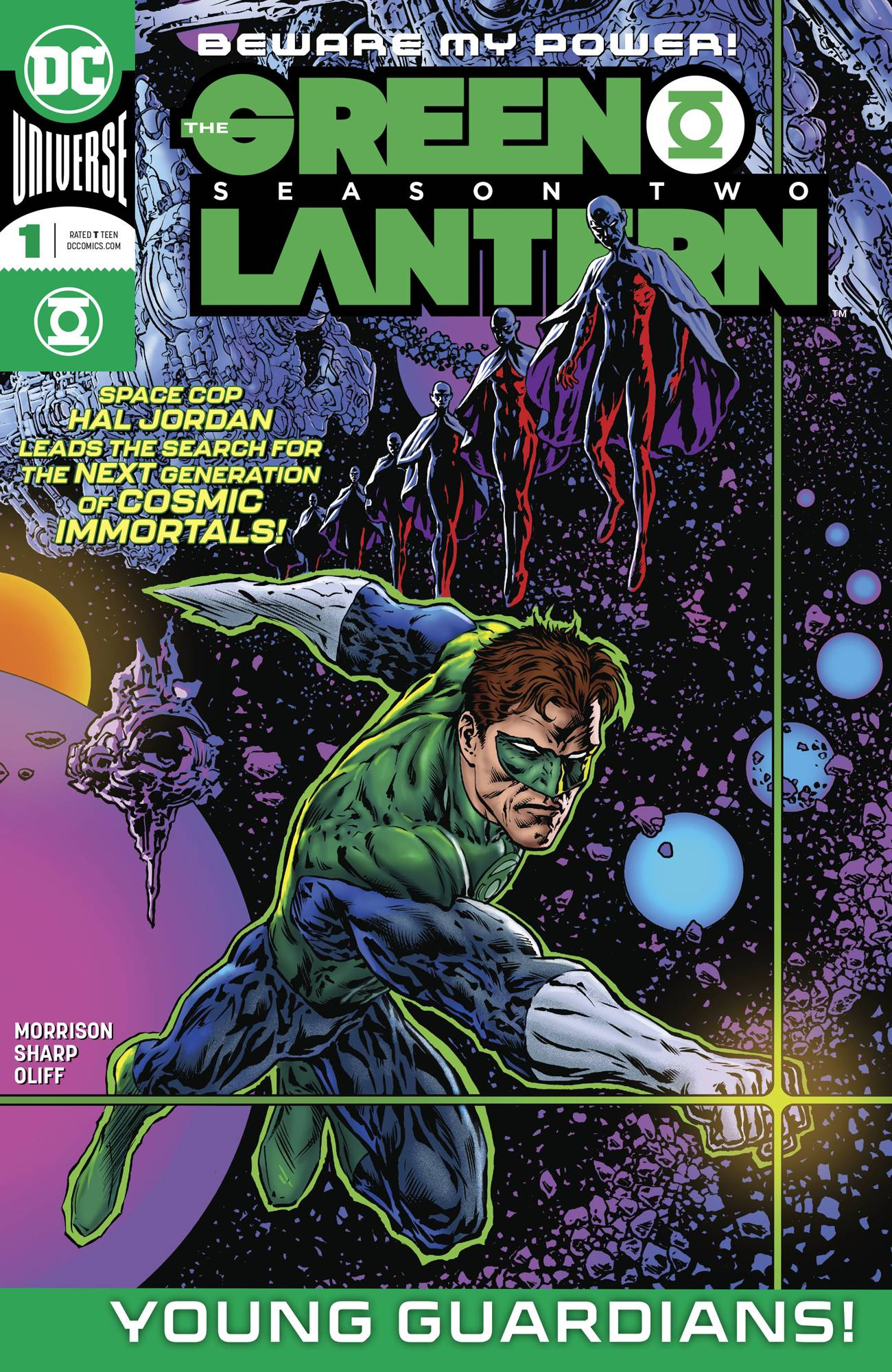 The Green Lantern: Season Two Vol 1 1