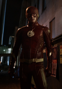 Barry Allen Arrowverse The Once and Future Flash 0001