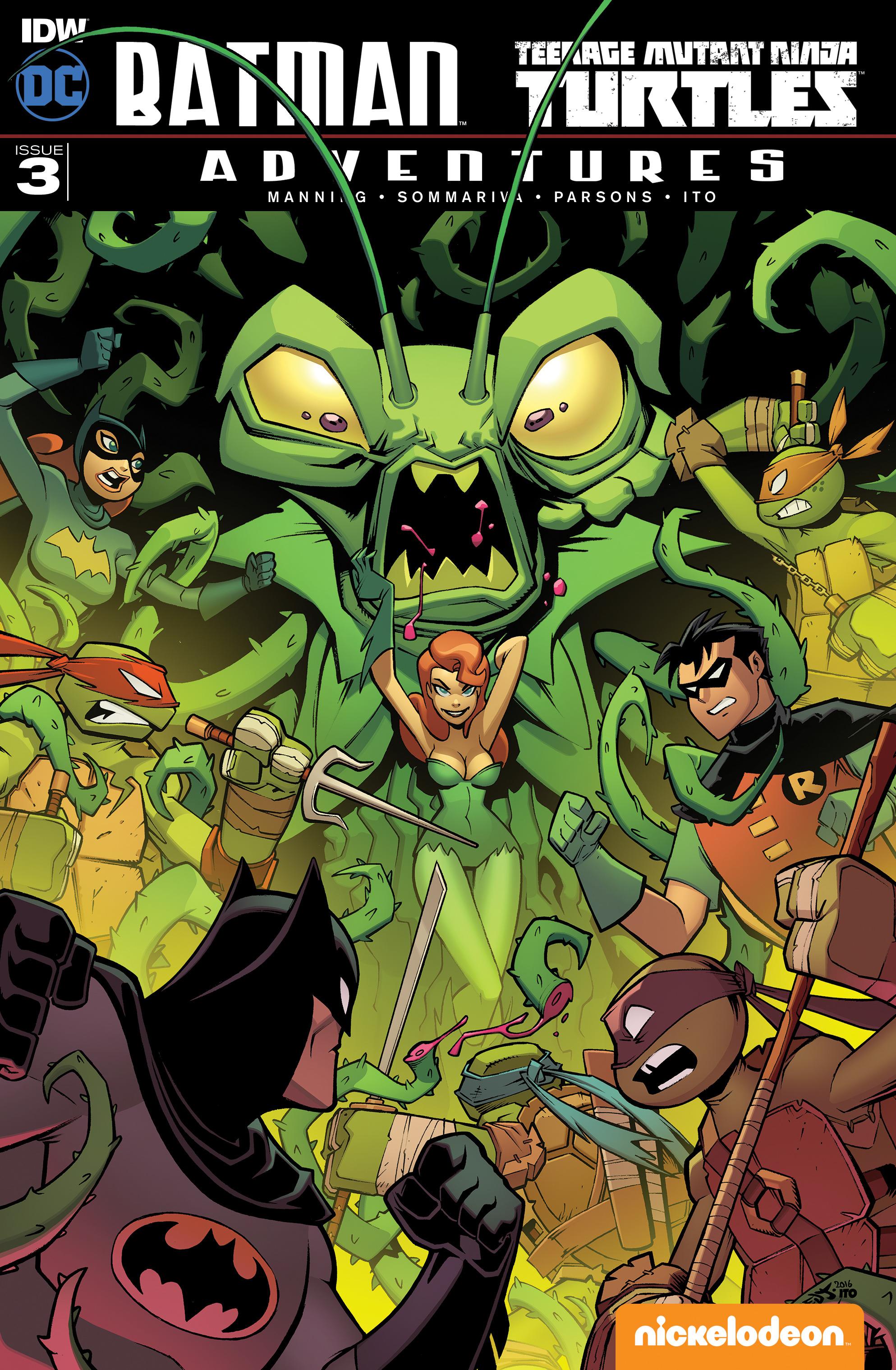 Batman/Teenage Mutant Ninja Turtles Adventures Vol 1 3