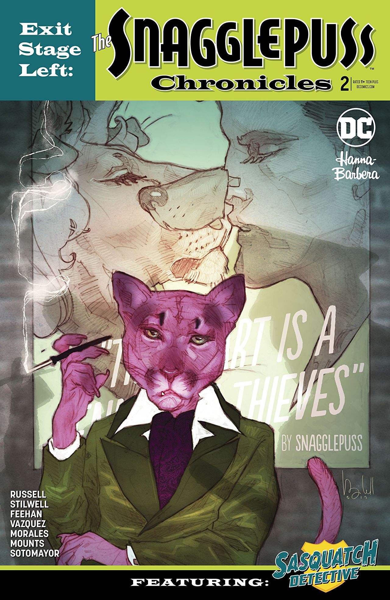 Exit Stage Left: The Snagglepuss Chronicles Vol 1 2