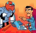 Simon Ecks Teen Titans Go TV Series 001