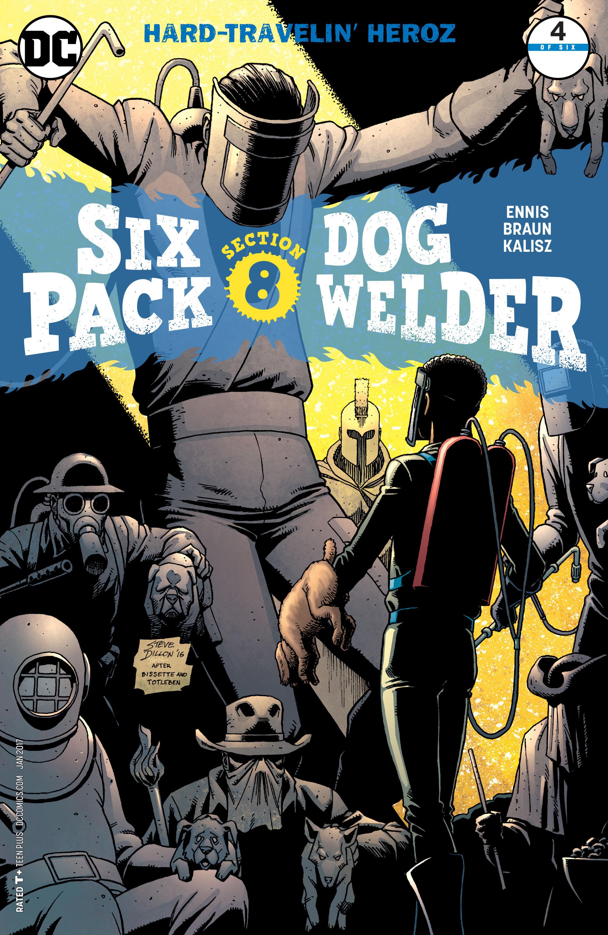 Sixpack and Dogwelder: Hard-Travelin' Heroz Vol 1 4