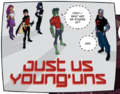 Teen Titans Just Us Young Uns 001