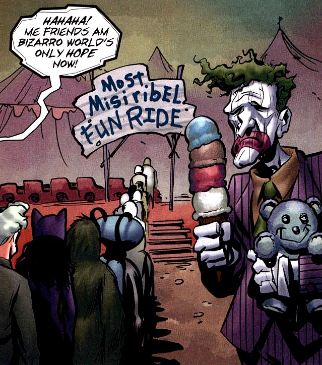 Bizarro Joker (New Earth)