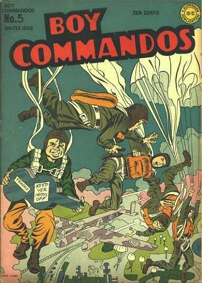 Boy Commandos Vol 1 5