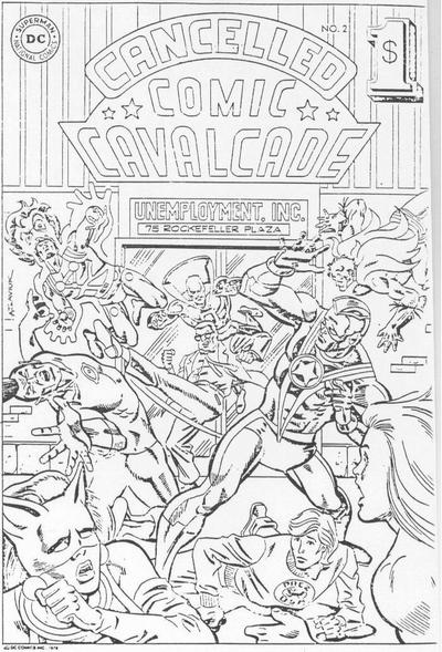 Cancelled Comic Cavalcade Vol 1 2
