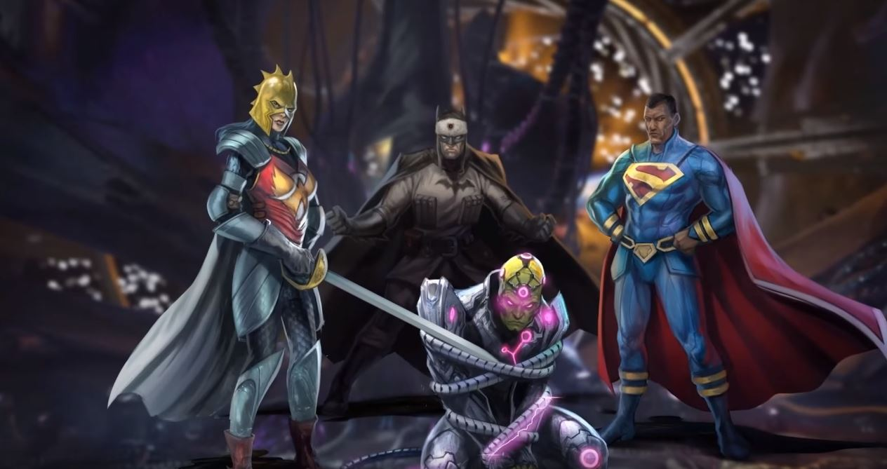 Vril Dox (Injustice: Fall of the Gods)