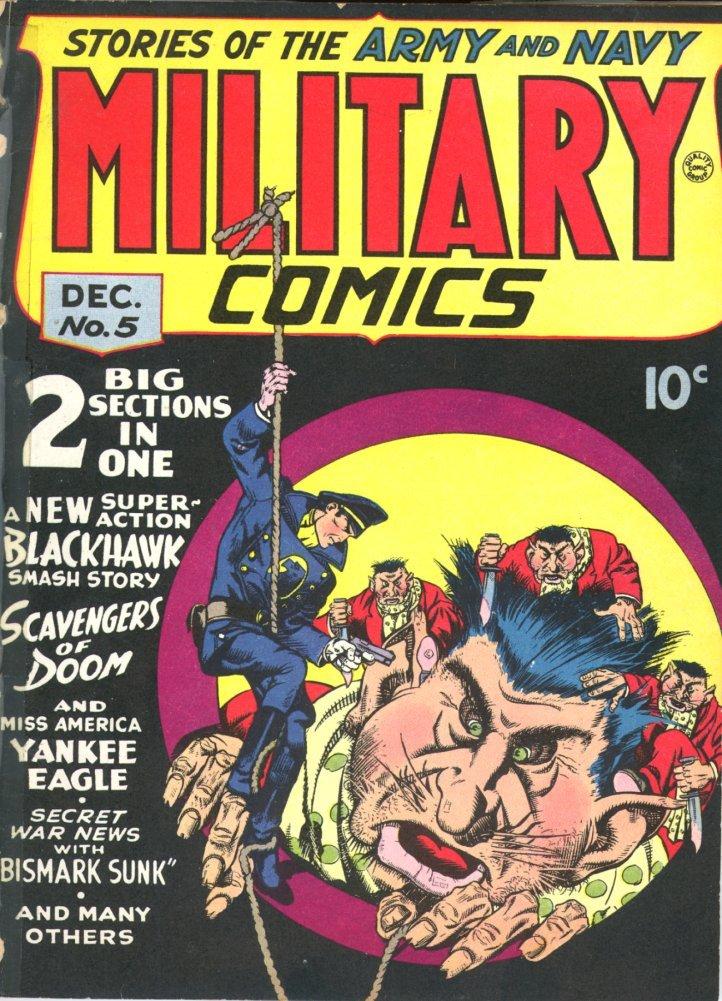 Military Comics Vol 1 5