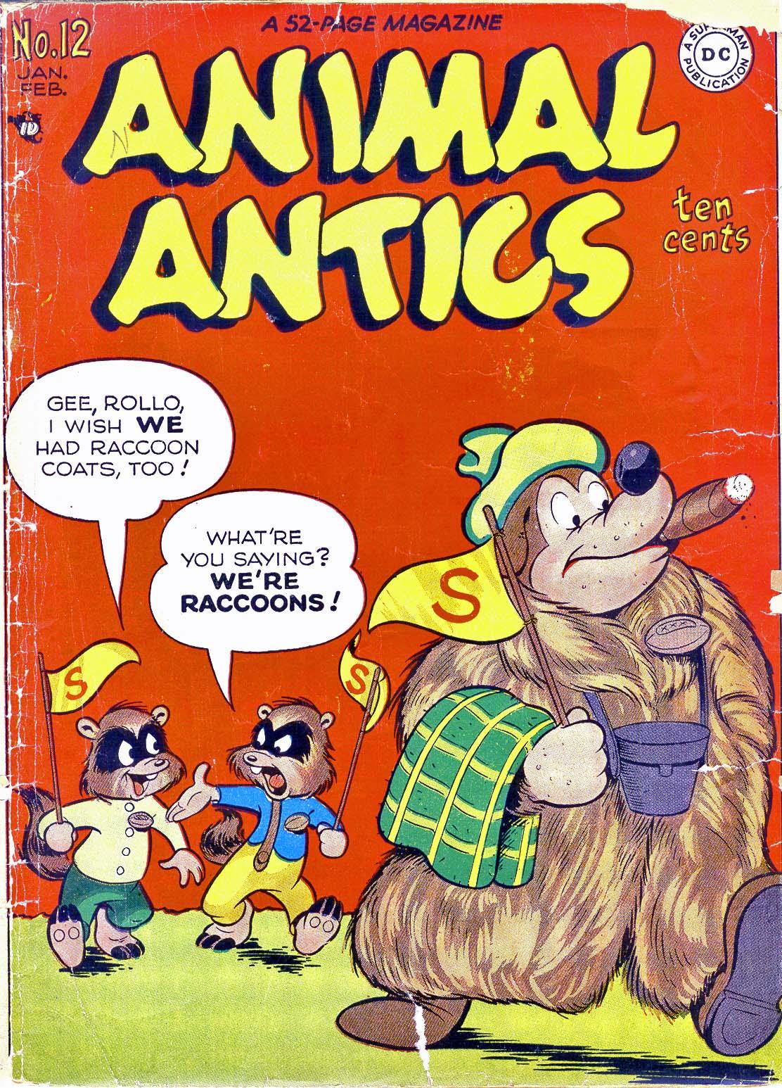 Animal Antics Vol 1 12
