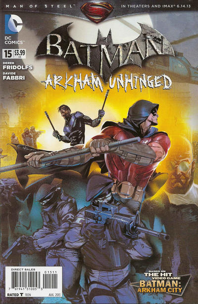 Batman: Arkham Unhinged Vol 1 15