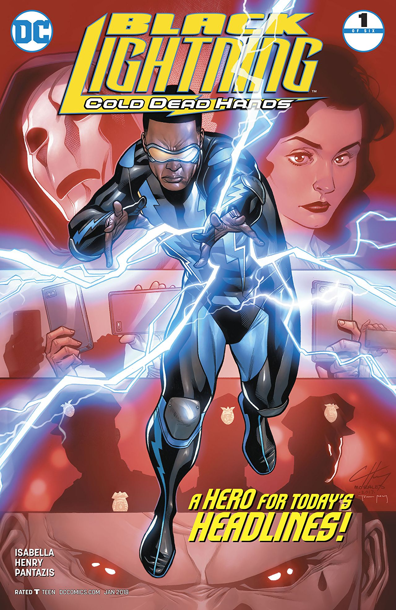 Black Lightning: Cold Dead Hands Vol 1 1