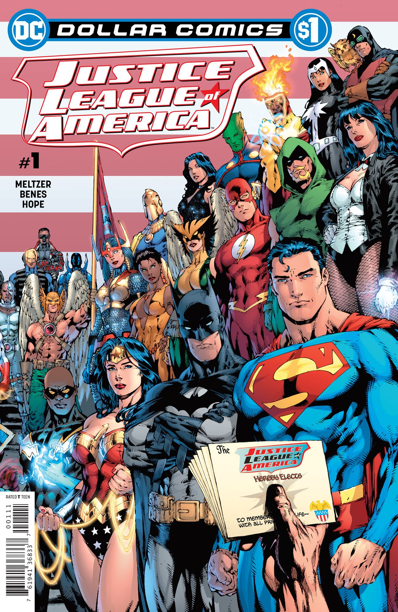 Dollar Comics: Justice League of America Vol 2 1