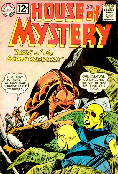 House of Mystery Vol 1 123