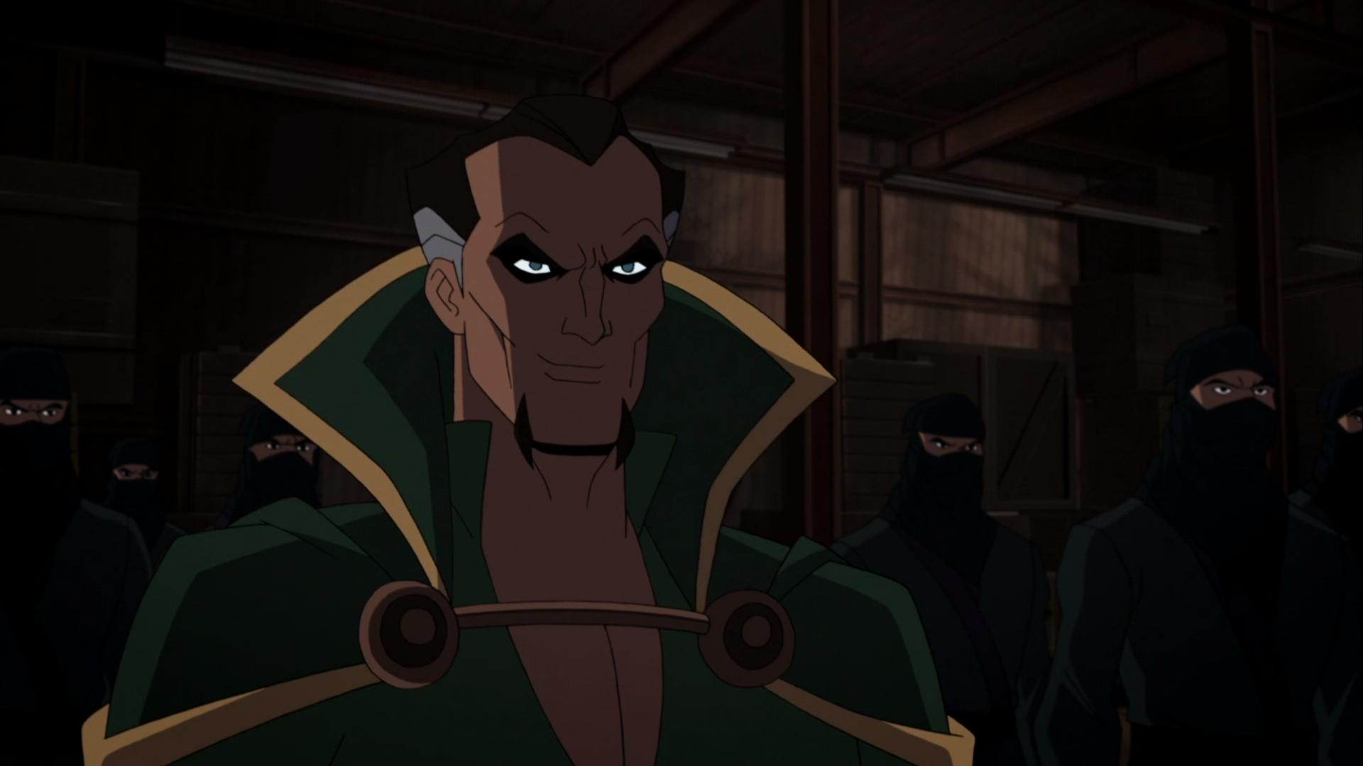 League of Assassins (Batman vs. TMNT)