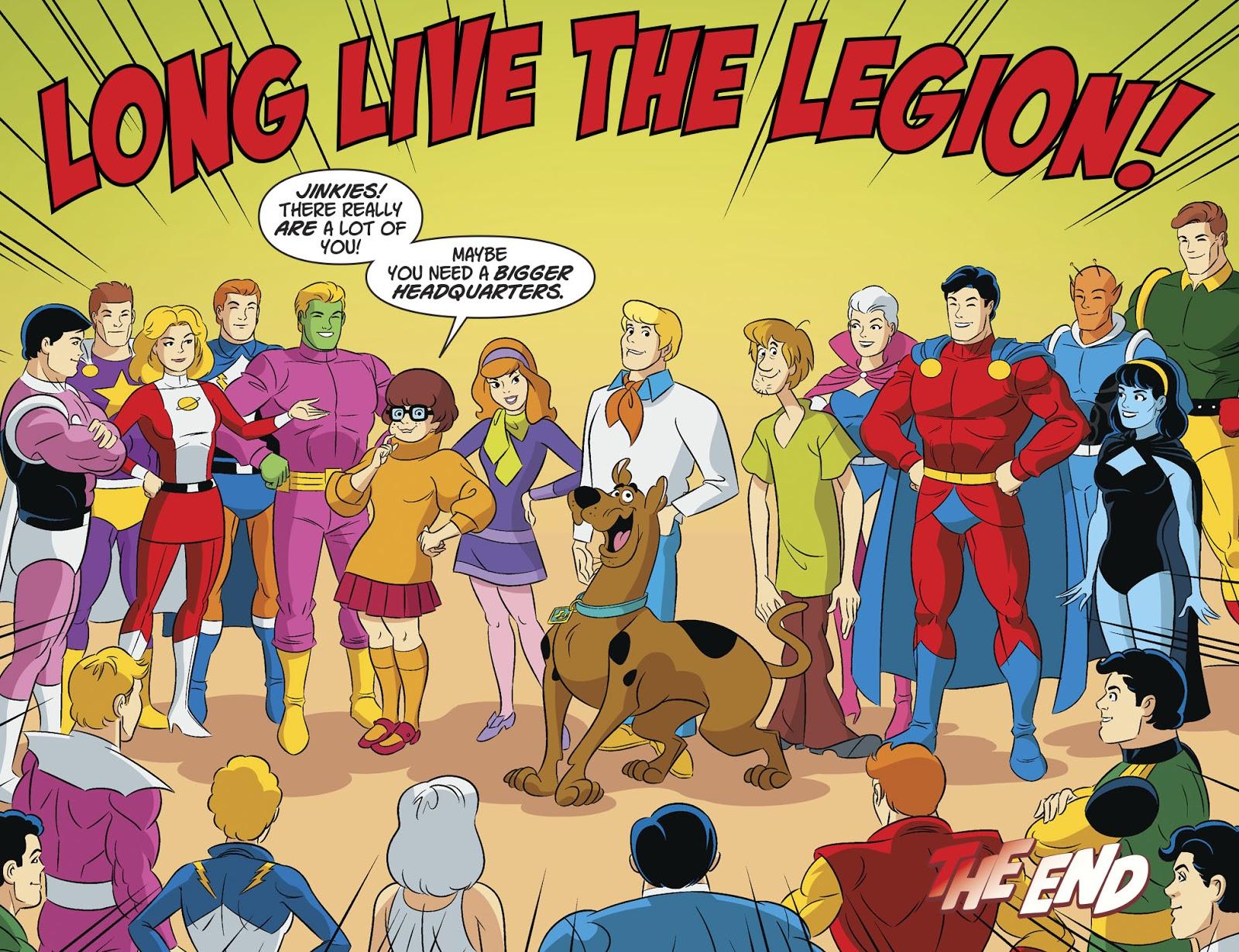 Legion of Super-Heroes (Scooby-Doo Team-Up)