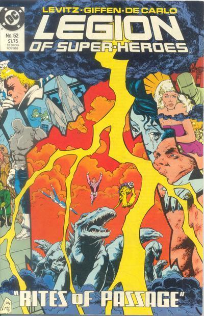 Legion of Super-Heroes Vol 3 52