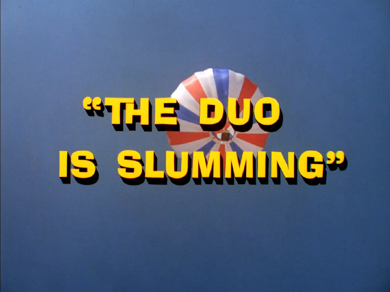 Batman (1966 TV Series) Episode: The Duo Is Slumming