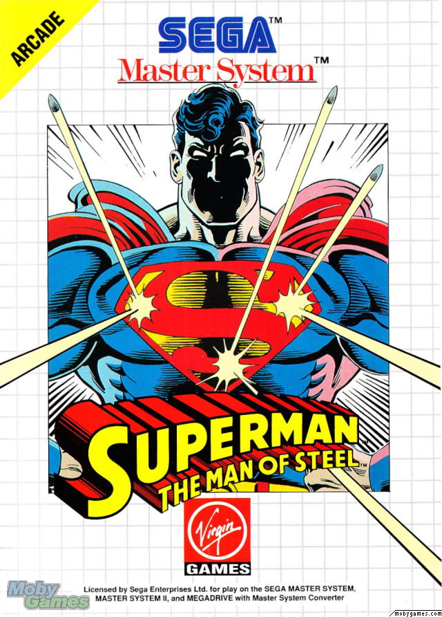 Superman: The Man of Steel (Master System)