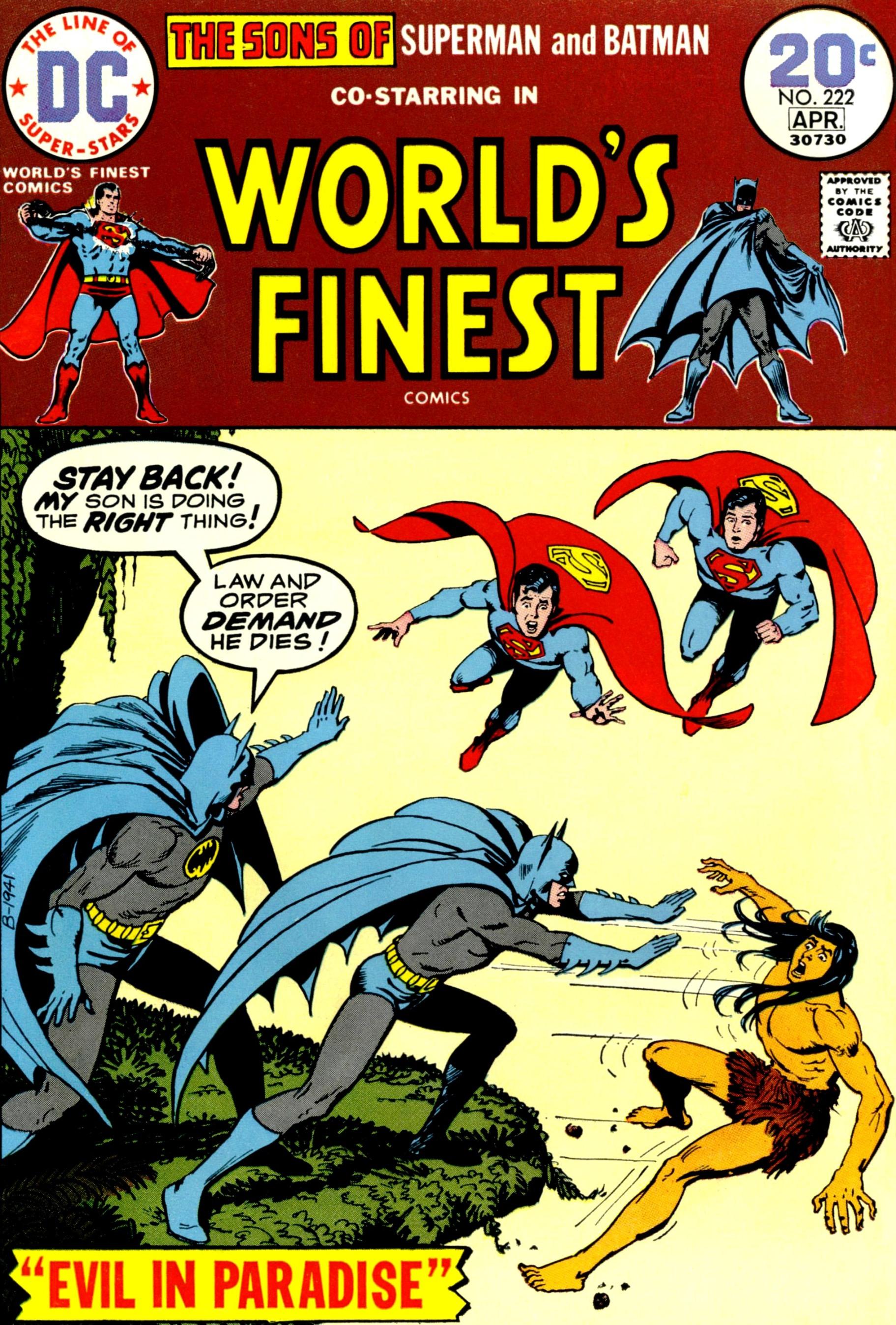 World's Finest Vol 1 222