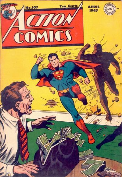 Action Comics Vol 1 107