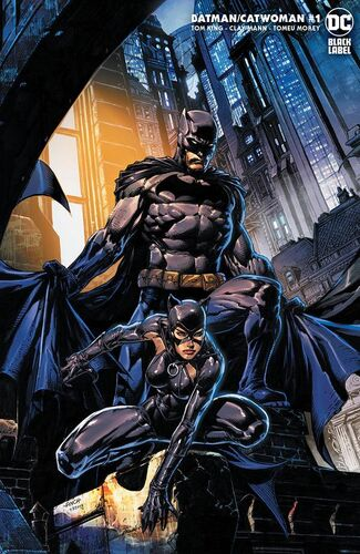 Exclusive Unknown Comic Books David Finch Minimal Trade Dress Variant