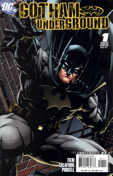 Gotham Underground Vol 1