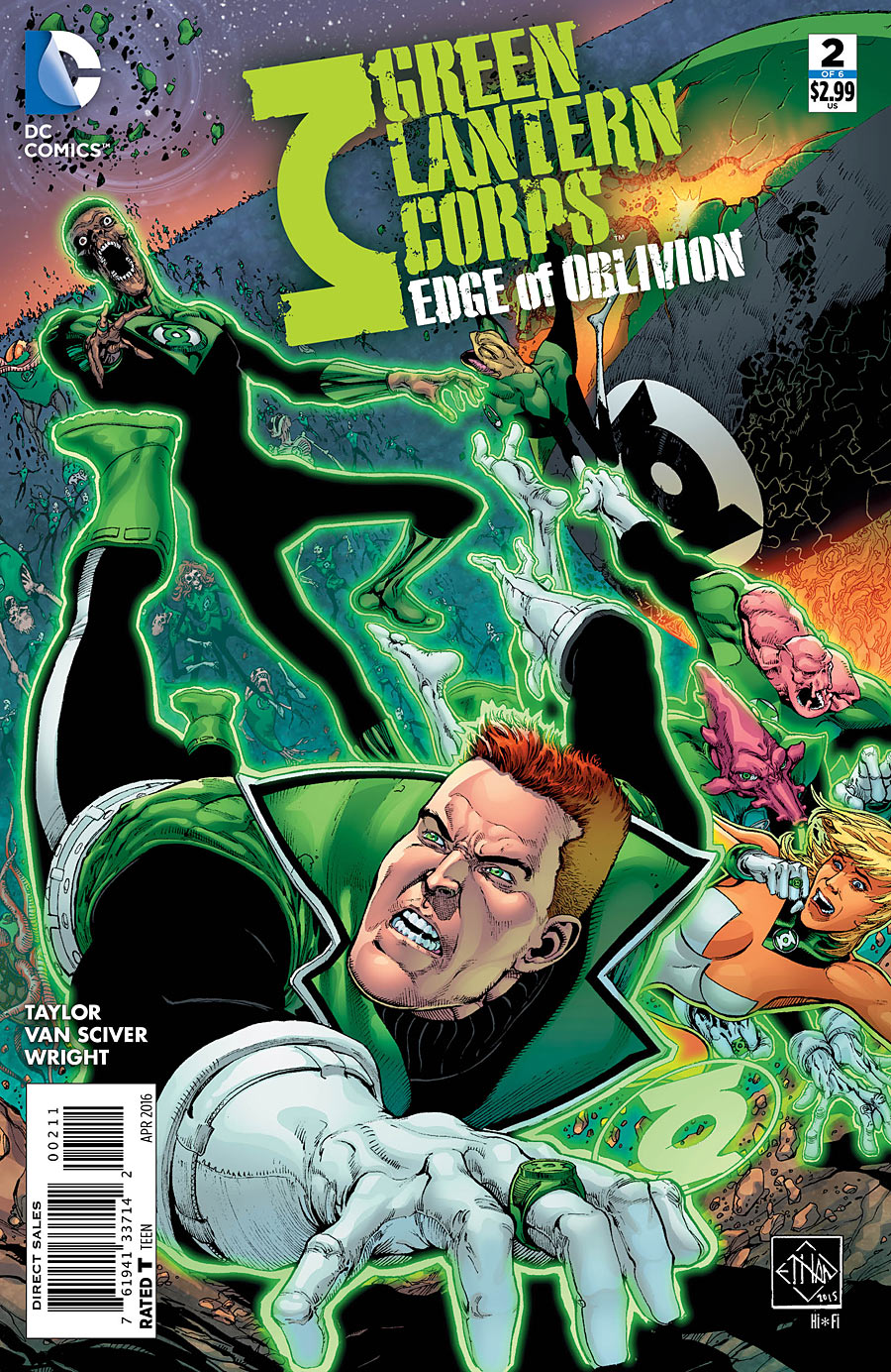 Green Lantern Corps: Edge of Oblivion Vol 1 2