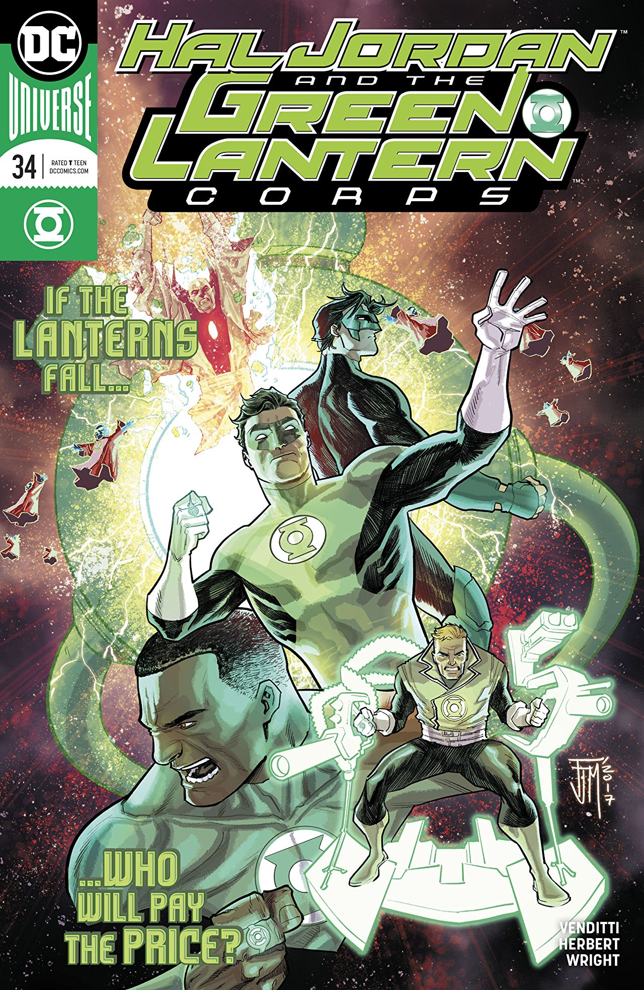 Hal Jordan and the Green Lantern Corps Vol 1 34
